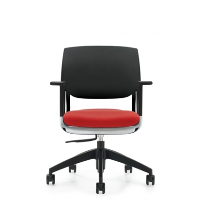 Picture of Global Novello 6400 Polymer Back Office Chair