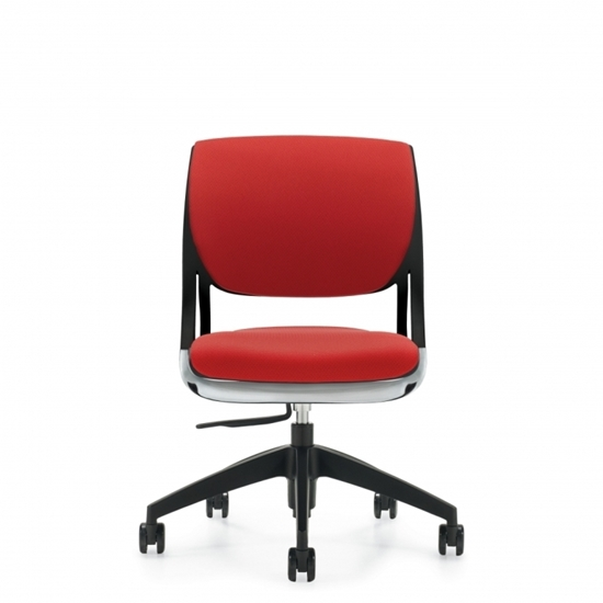 Picture of Global Novello 6403 Armless Upholstered Back Office Chair
