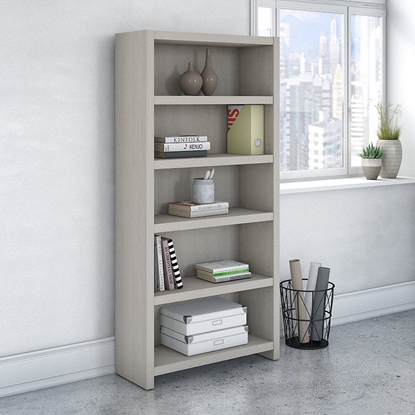 Picture of Office by kathy ireland® Echo KI60204 Five Shelf Bookcase