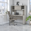 """Picture of Office by kathy ireland® Echo ECH030 60"""" Credenza Desk with Hutch"""