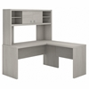 Picture of Office by kathy ireland® Echo ECH031 L-Shaped Desk with Hutch