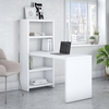 Picture of Office by kathy ireland® Echo KI60207 Bookcase Desk