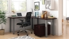 Picture of Offices to Go SL-14 L Shaped Desk w/ Mobile Pedestal