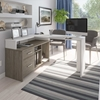 Picture of Bestar 115860 Equinox L Shaped Desk