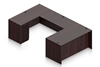 Picture of Offices to Go SL6630DS-SL6624CS U-Shaped Desk