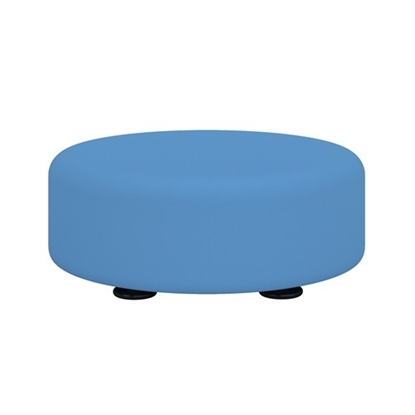 """Picture of Learn 8121 15""""  Round Vinyl Floor Seat"""