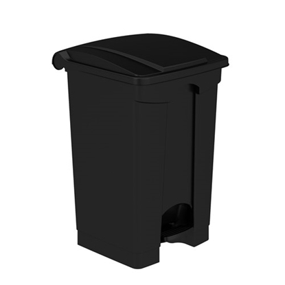 Picture of 9925 Plastic Step-On Receptacle, 12 Gallon