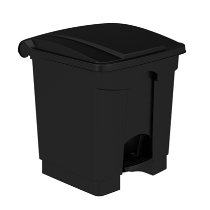 Picture of 9924 Plastic Step-On Receptacle, 8 Gallon