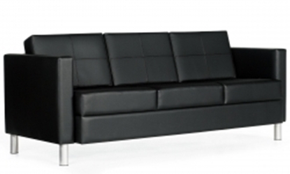 Picture of Global 7877 Leather Three Seat Sofa